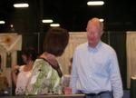 Paula Keif showing Ed Begley Jr. the GoGreen Web Directory
